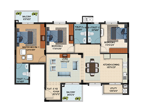 Vapi Typical Floor plan